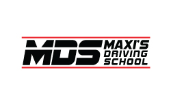 Maxis Driving School logo