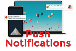 Push Notifications marketing sample image